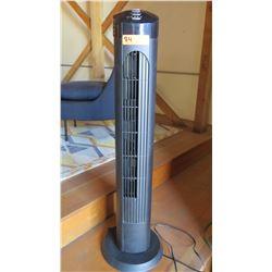 Black Cascade Tower Fan