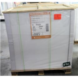 Qty 1 Pallet Pacesetter 40 x 26 Silk Cover Paper 4000 Sheets