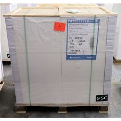 Qty 1 Pallet Pacesetter 20 x 26 Gloss Cover Paper 9000 Sheets