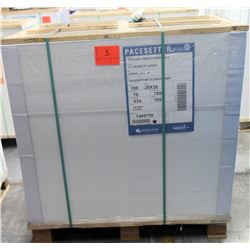 Qty 1 Pallet Pacesetter 20 x 26 Gloss Cover Paper 7000 Sheets