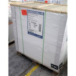 Qty 1 Pallet Pacesetter 25.5 x 38 Gloss Text Paper 12,500 Sheets