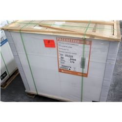 Qty 1 Pallet Pacesetter 20 x 26 Silk Cover Paper 6000 Sheets