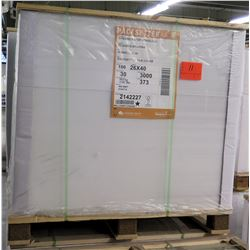 Qty 1 Pallet Pacesetter 26 x 40 Silk Cover Paper 3000 Sheets