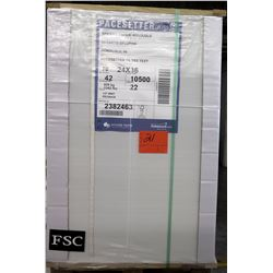 Qty 1 Pallet Pacesetter 24 x 36 Gloss Text Paper 10.5000 Sheets
