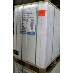 Qty 1 Pallet Pacesetter 24 x 36 Gloss Text Paper 7000 Sheets