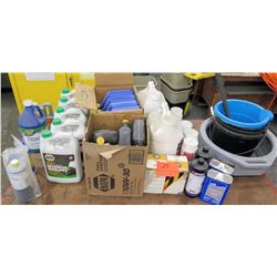 Misc Parts & Fluids - Antifreeze, 10W-40 Oil & Household Aids