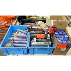 Misc Tubes - Elastomastic, Sealants, Grease, Lubes, Paint Remover, etc