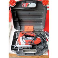 Black & Decker Jig Saw in Hard Case w/ Blades
