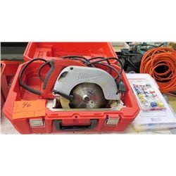 Milwaukee Tilt Lok Adjustable Handle Circular Saw in Hard Case