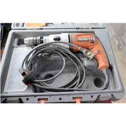Ridgid Electric Drill in Hard Case