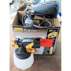 Wagner Flexio 570 Airless Sprayer Spray Gun