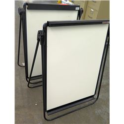 Qty 2 Quartet Unimate Standing Dry Erase White Board Easels