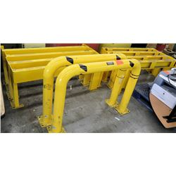 Global Industrial Yellow Protective Safety Railings Barriers