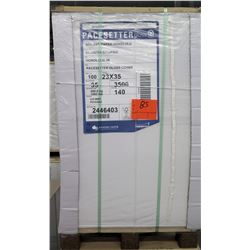 Qty 1 Pallet Pacesetter 23 x 35 Gloss Cover Paper 3500 Sheets