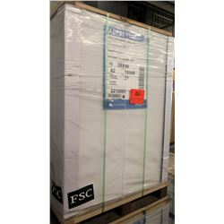 Qty 1 Pallet Pacesetter 28 x 40 Gloss Text Paper 10,500 Sheets