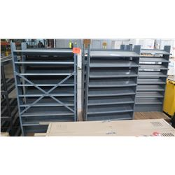 Gray Shelving