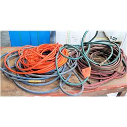 Qty 4 Air Hoses w/ Hose Fittings