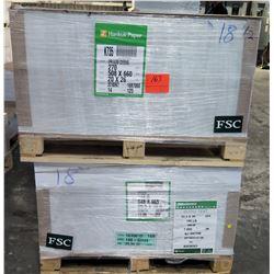 Qty 1 Pallet Hankuk Paper XPRI Gloss Cover 20 x 26 Paper 125 Sheets