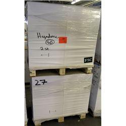 """Qty 2 Pallets FSC Misc Paper, 27 & 28"""""""