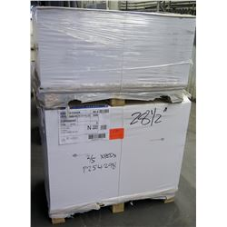 Qty 2 Pallets Endurance Paper Smooth Text 26 x 40 Paper 3500 Sheets