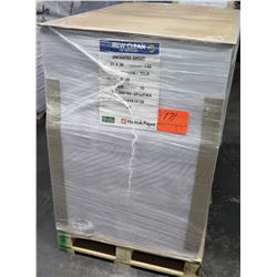 Qty 1 Pallet New Clean Hankuk Paper Uncoated Offset 25 x 38 Paper 7500 Sheets