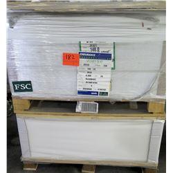 Qty 2 Pallets Endurance Velvet Cover & Pacesetter Silk Cover Paper