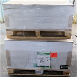 Qty 2 Pallets Endurance Hankuk 28 x 40 Gloss Text Paper 9000 Sheets