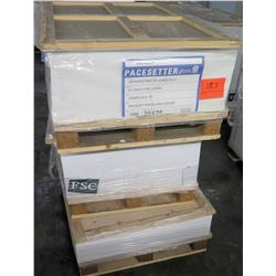 Qty 3 Pallets Pacesetter Gloss Cover 20 x 26 Paper, FSC Paper & Other
