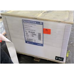 Qty 1 Pallet Pacesetter Gloss Text 25.5 x 38 Paper 10,500 Sheets