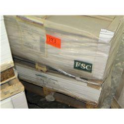 Qty 2 Pallets Pacesetter Matte 19 x 25 & FSC Paper
