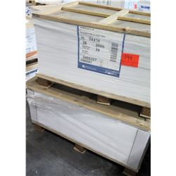 Qty 2 Pallets Pacesetter Gloss Text 24 x 36 & 28 x 40 Paper