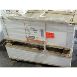 Qty 2 Pallets Pacesetter Silk Text 28 x 40 Paper 8000 Sheets & Other