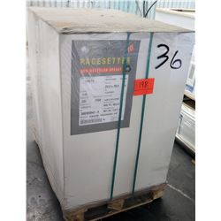 Qty 1 Pallet Pacesetter Recycled Offset 23 x 38 Paper 7000 Sheets