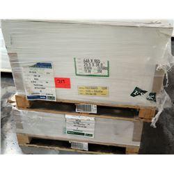 Qty 2 Pallets Endurance Velvet Cover Expedx & Veritiv Paper