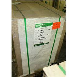 Qty 1 Pallet Veritiv Endurance Gloss Text 25.5 x 38 Paper 7000 Sheets