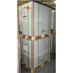Qty 2 Pallets Veritiv Endurance Gloss Cover 40 x 26 Paper 4500 Sheets
