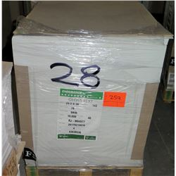 Qty 1 Pallet Veritiv Endurance Gloss Text 25.5 x 38 Paper 10,000 Sheets
