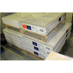 Qty 4 Packages Domtar Lynx Cover Ultra - 3 @ 26 x 40/ 1 @ 23 x 35 Paper