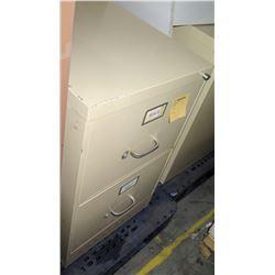 Metal File Cabinets - 1 Short 2 Drawer, etc