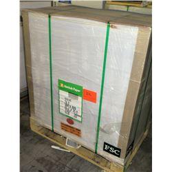 Qty 1 Pallet Hankuk Printing 23 x 35 Paper, 250 Sheets 20 Reams