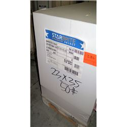 Qty 1 Pallet Starbright Opaque Select 23 x 35 Paper 9500 Sheets