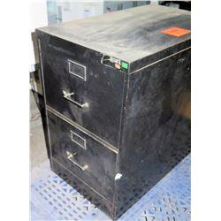 Metal 2 Drawer Short Filing Cabinet