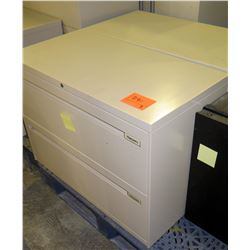Qty 3 Misc Metal File Cabinet - 1 Short 2 Drawer Lateral Legal File, etc