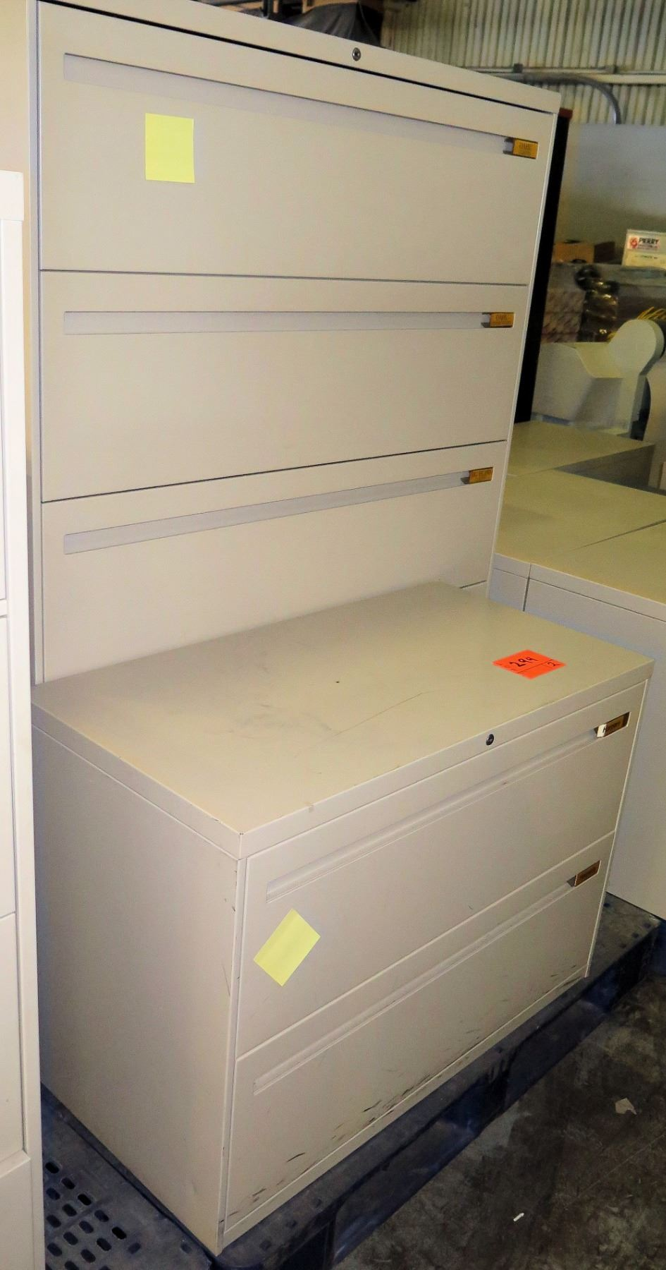 Metal 4 Drawer Lateral Legal File Cabinet 2 Drawer Lateral