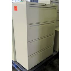 4-Drawer Lateral File Cabinet & 3-Drawer Lateral File Cabinet