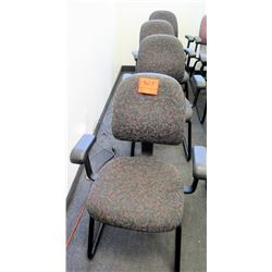 Qty 5 Office Desk Chairs w/ Arm Rests