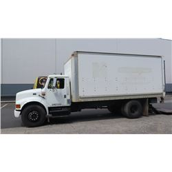 1997 International Box Truck With Lift Gate