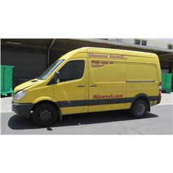 2011 Mercedes Sprinter Van, Lic. 012TTS, Starts & Runs (title not available until May 14)