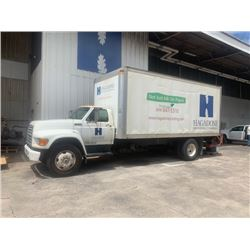Box Truck w/ Lift Gate, Does Not Run