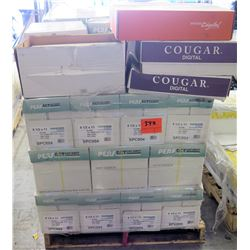 Qty 1 Pallet Perfect 20lb Hero Cases of Reams & Misc Cougar Paper